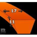 Pas klinowy B 1000.Stomil