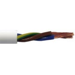 Przewód OWY 4x1 gumowy, biały