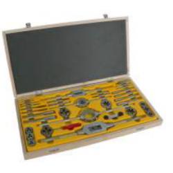 Zestaw narzędzi do gwintowania FANAR CZD-40 HSS