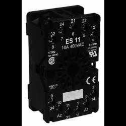 Gniazdo ES11 do przekaźników R15