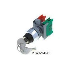 Przełącznik stacyjka 2poz KS22-1-O/C stabilny
