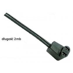Przewód zasilający C2-20 2000mm wtyczka kątowa
