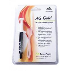 Pasta termoprzewodząca Gold/3g pasta strzykawka AG Termopasty 2,8W/mK