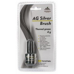 Pasta termoprzewodząca Silver Brush/4g pasta butelka AG Termopasty 3,8W/mK