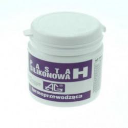 Pasta silikonowa termoprzewodząca H/1kg pasta pojemnik plastikowy AG Termopasty