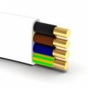 Przewód YDYp 450/750 4x1,5 płaski, instalacyjny
