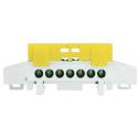 LZ 7/Ż E.4174 - listwa zaciskowa żółta - PAWBOL