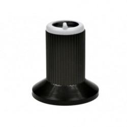 Gałka N-0 znacznik biały 6mm