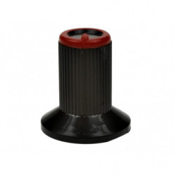 Gałka N-0 znacznik czerwony 6mm