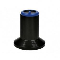 Gałka N-0 znacznik niebieski 6mm