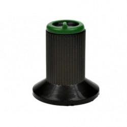 Gałka N-0 znacznik zielony 6mm