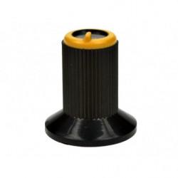Gałka N-0 znacznik żółty 6mm