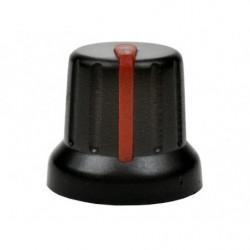 Gałka N-4 znacznik czerwony 6mm
