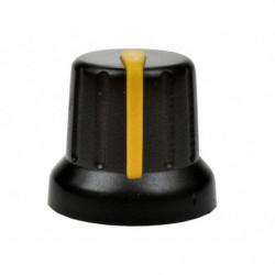 Gałka N-4 znacznik żółty 6mm