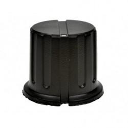 Pokretlo B162/GWB-19-BK / gałka oś 6,35mm fi 19,5x