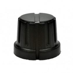 Pokretlo B163/GWB-15-BK / gałka oś 6,35mm fi 17x15