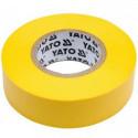 Taśma elektroizolacyjna 19mmx20mx0.13mm żółta