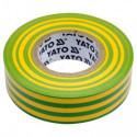 Taśma elektroizolacyjna 19mmx20mx0.13mm żółto-ziel
