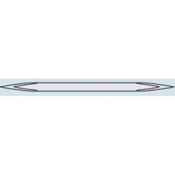 GRAT-TEC Skrobak dwuostrzowy