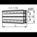 Tuleja zaciskowe E016D10