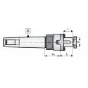 Trzpień frezarski z chwytem MK3.A51.D22C