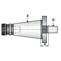 Trzpień frezarski do uchwytów ISO50.A20.B16