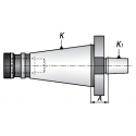 Trzpień frezarski do uchwytów ISO30.A15.B10