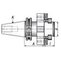 Trzpień frezarski DIN50.A70.D40DF