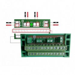 Rozdzielacz zasilania 24VDC