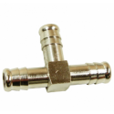 Złączka pneumatyczna Trójnik na wąż 8mm mosiądz T8MS