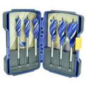 Zestaw wierteł Blue Groove 6X 16,18,20,22,25,32 mm