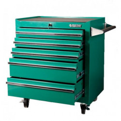 Wózek warsztatowy z 5 szufladami 150 narzędzi SATA