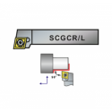 Nóż tokarski składany SCGCR 1212-09