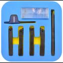 Zestaw 5 noży tokarskich składanych 8 mm PAFANA