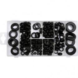 Zestaw przelotek gumowych 180 sztuk YATO