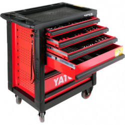 Szafka warsztatowa + 177 sztuk narzędzi YATO