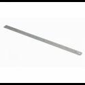 Liniał stalowy, nierdzewny giętki, kreskowy 150x13