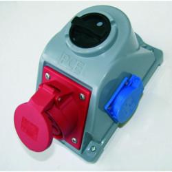 PCE gniazdo z wyłącznikiem COMBO-POL 16/5 + 230V