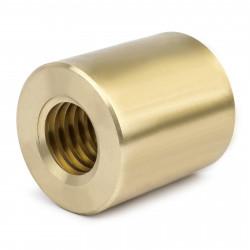 Nakrętka brązowa cylindryczna 12x3