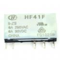 Przekaźnik HF41F-005-ZS 5V, DC, 1 styk przełączny