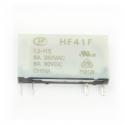 Przekaźnik HF41F-012-HS 12V DC, 1 styk, Hongfa