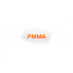 Tuleja z tworzywa PMMA 134 mm x 128mm x 500mm
