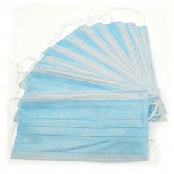 Maseczka ochronna higieniczna trójwarstwowa - komplet 10 szt