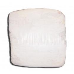 Czyściwo bawełniane jasne - białe PAKOWANE w paczkach 10 KG.
