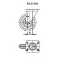 Zestaw kołowy RE.E3-125-SBL