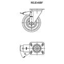 Zestaw kołowy RE.E3-150-SBF