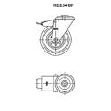 Zestaw kołowy RE.E3-100-FBF
