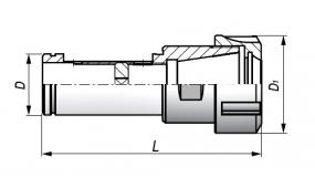 Chwyt ISO (DIN 2080)