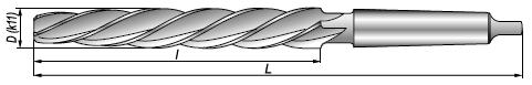 Rozwiertaki kotlarskie DIN 311
