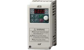 Falownik iE5 - zasilanie 1x230V - falowniki jednofazowe